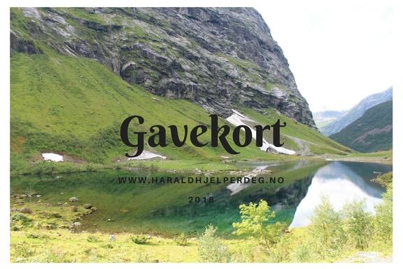 Gavekort Harald hjelper deg
